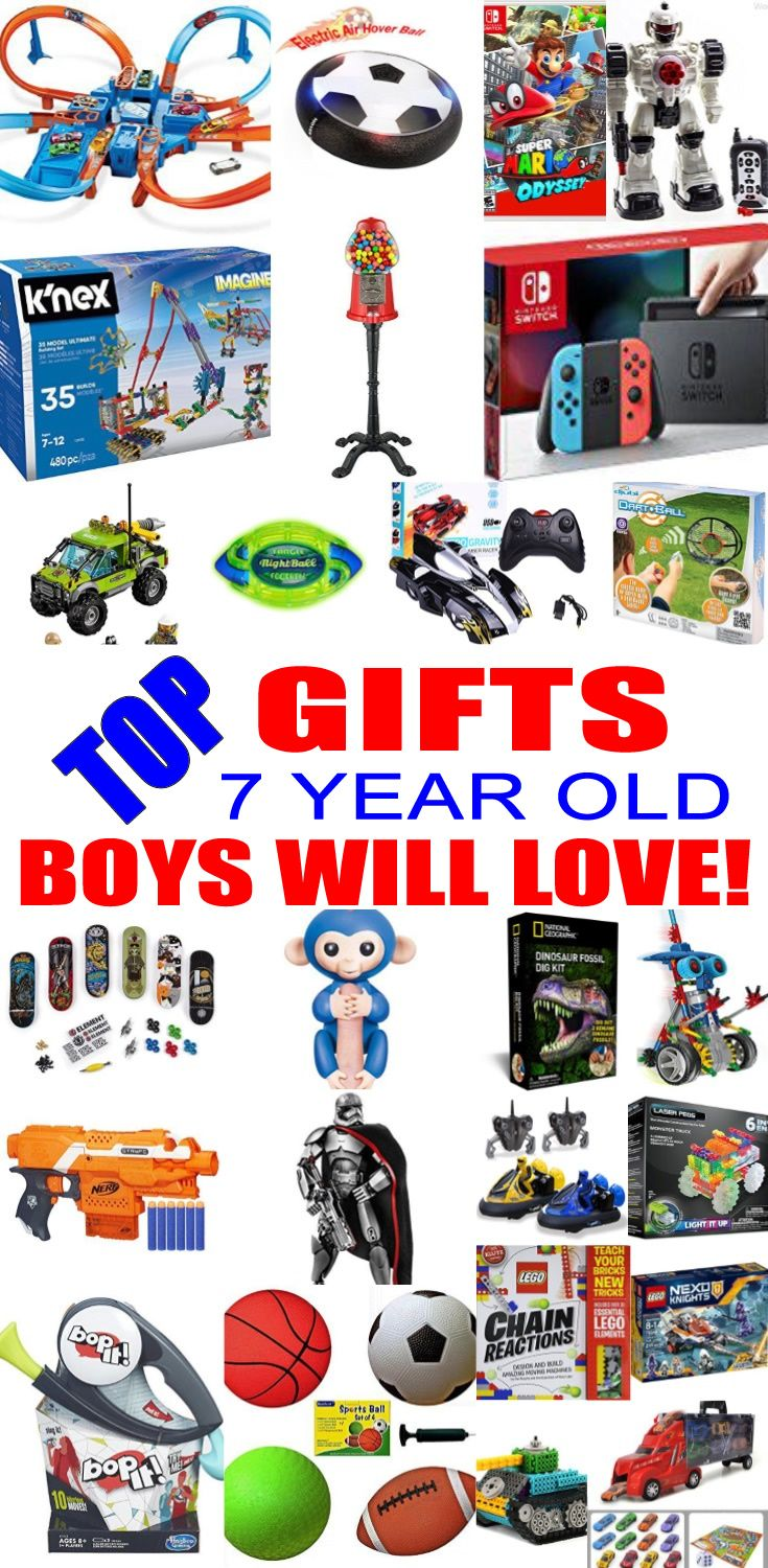 Christmas gift ideas for a 7 year old boy