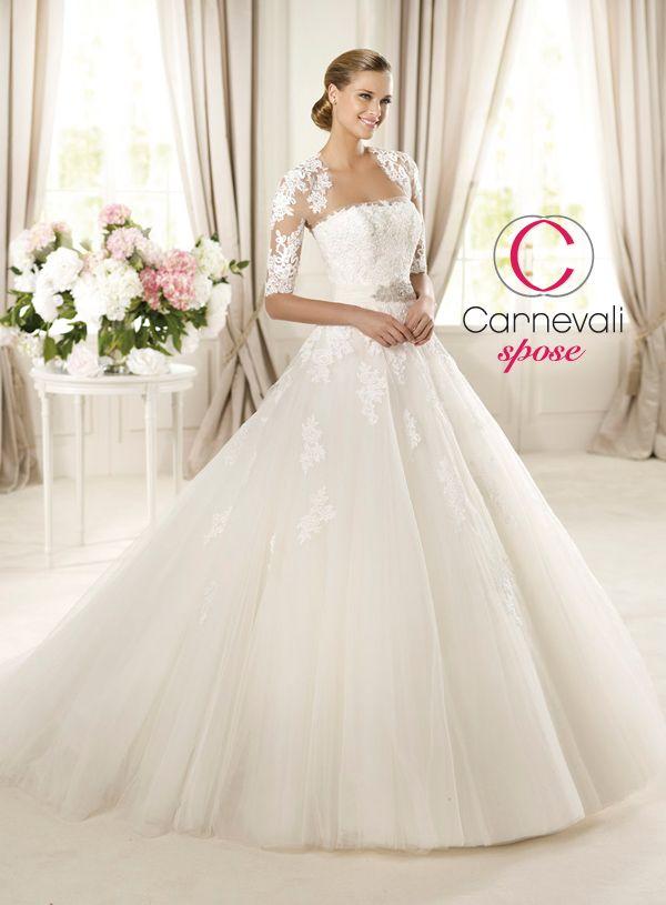 4f2d3beb100e Carnevali Spose Mobile - Vestiti da sposa - Photogallery - Pronovias Glamour