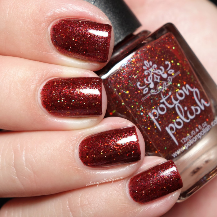 Potion Polish MidFall Collection swatches in 2020 Nail
