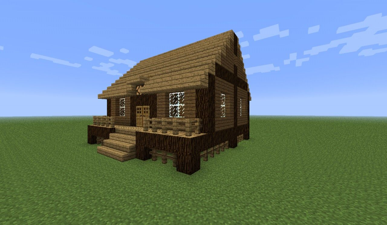 Cabin Log Minecraft House Log Cabin Minecraft