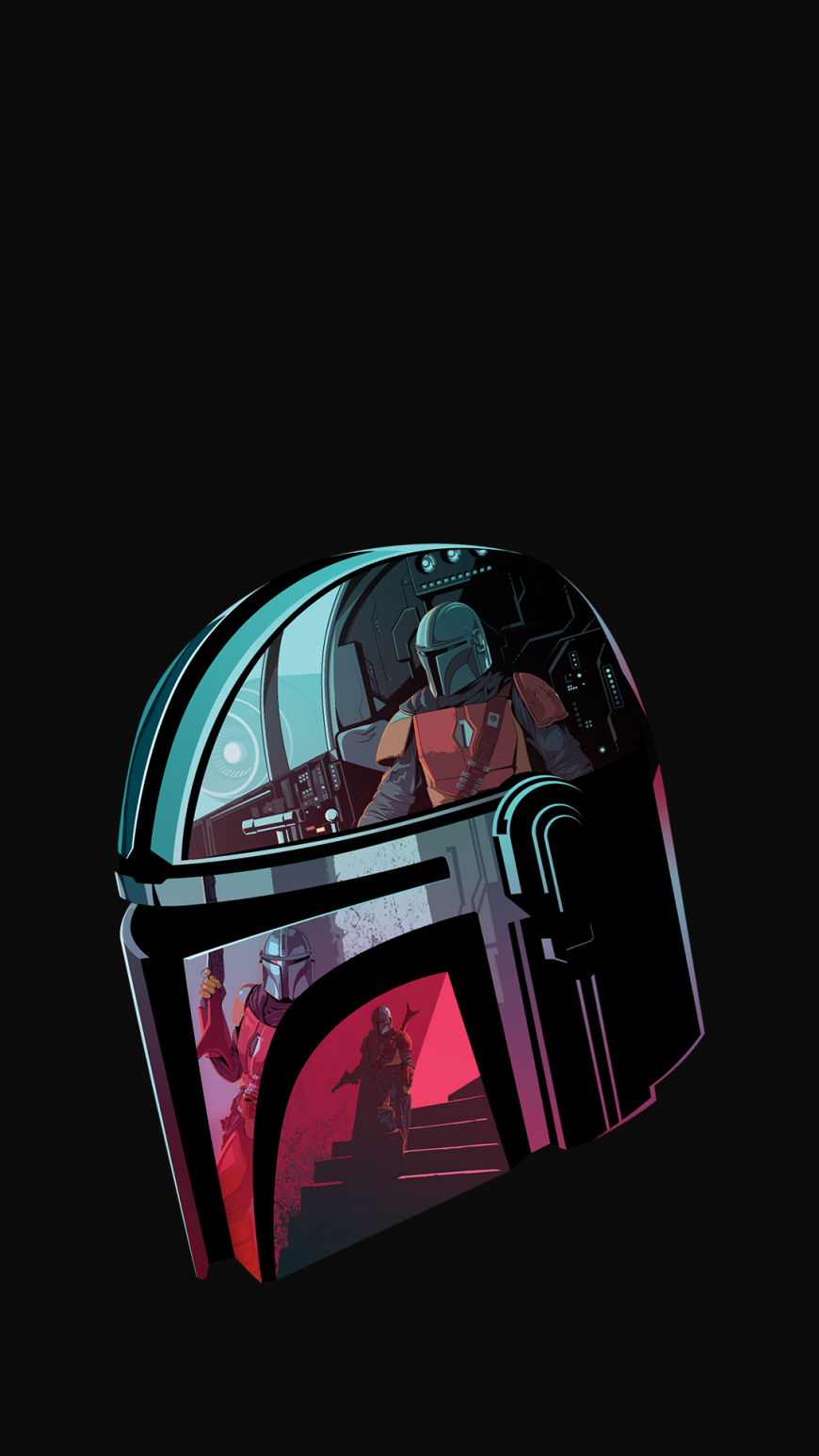The Mandalorian HD phone wallpapers 1080p in 2020 (With