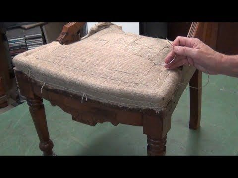 Eastlake Chair Upholstery Traditional Springing Stuffing