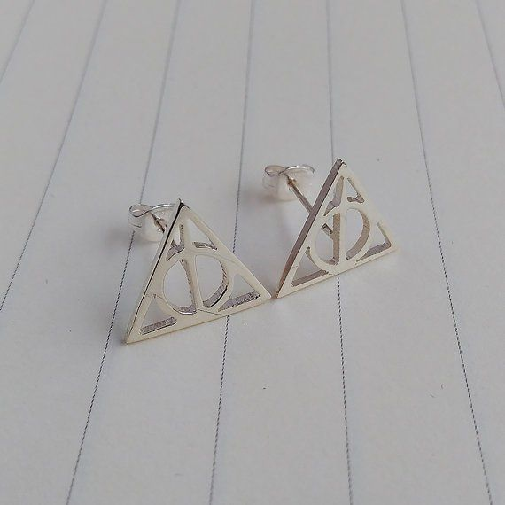 A pair of Deathly Hollows earrings. Get it HERE.