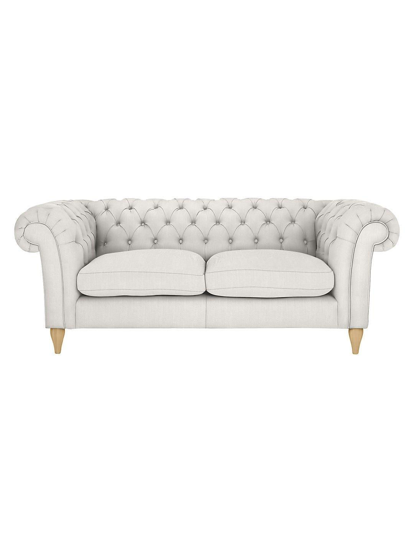 John Lewis Partners Cromwell Chesterfield Large 3 Seater Sofa At John Lewis Partners In 2020 Seater Sofa 3 Seater Sofa Sofa