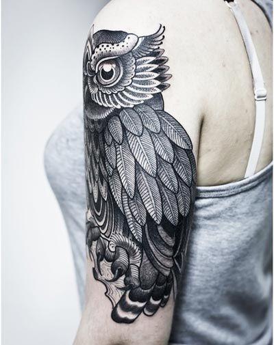 Best Owl Tattoo Designs