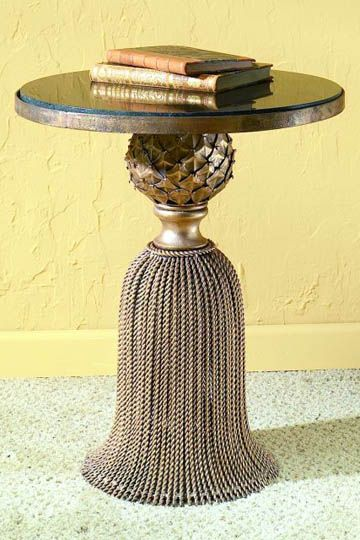 Tassel Table would look beautiful in my living room Home - dr livingstone i presume furniture