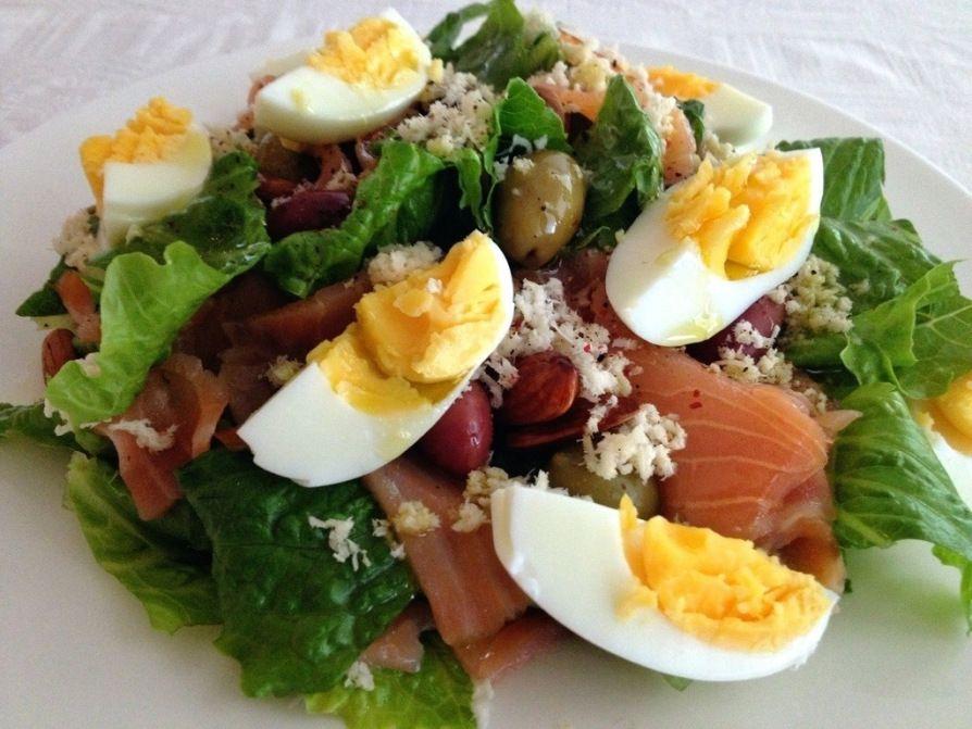 Paleo Smoked Salmon And Horseradish Salad   Strictly Paleo…ish!