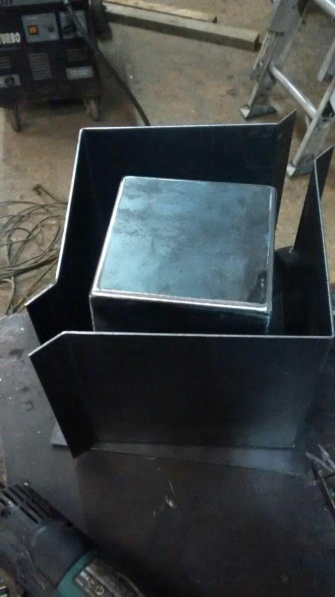 Molde para maceta de cemento macetas de cemento cemento for Jardin vertical mercadolibre