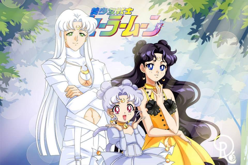 Sailor Moon Cats Artemis Diana And Luna Sailor Moon