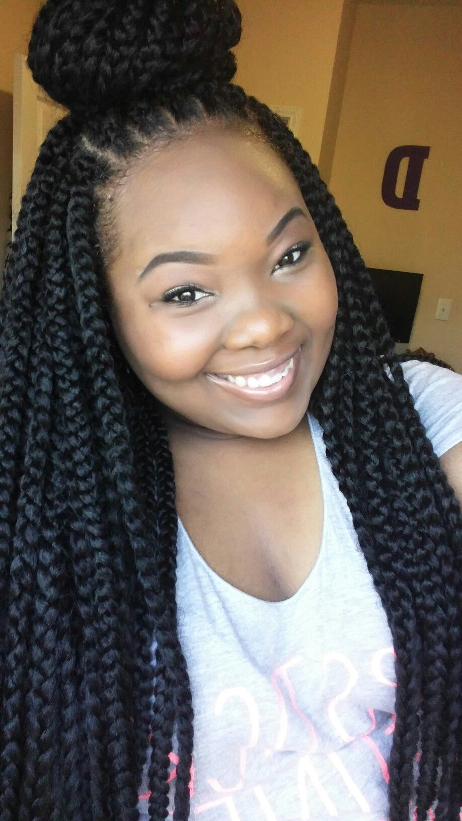 different sizes of box braids | natural hairstyles and products
