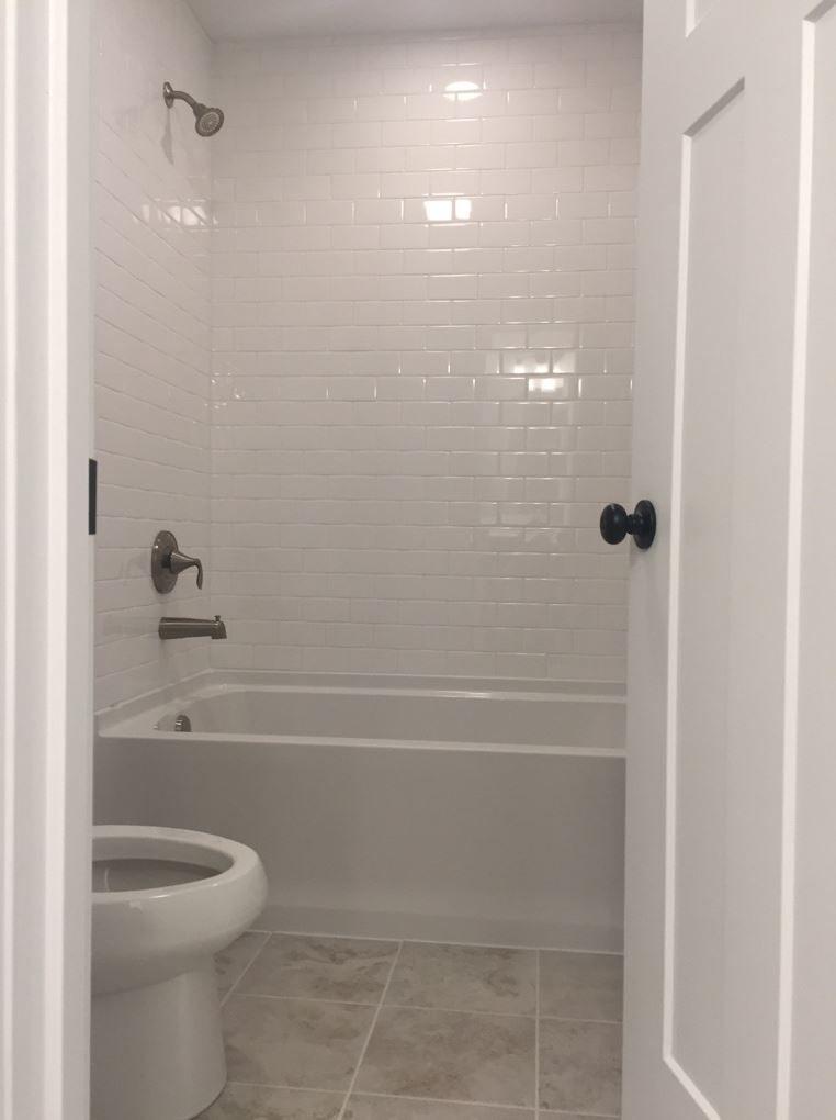 3x6 arctic white subway gloss finish wall tile  bath