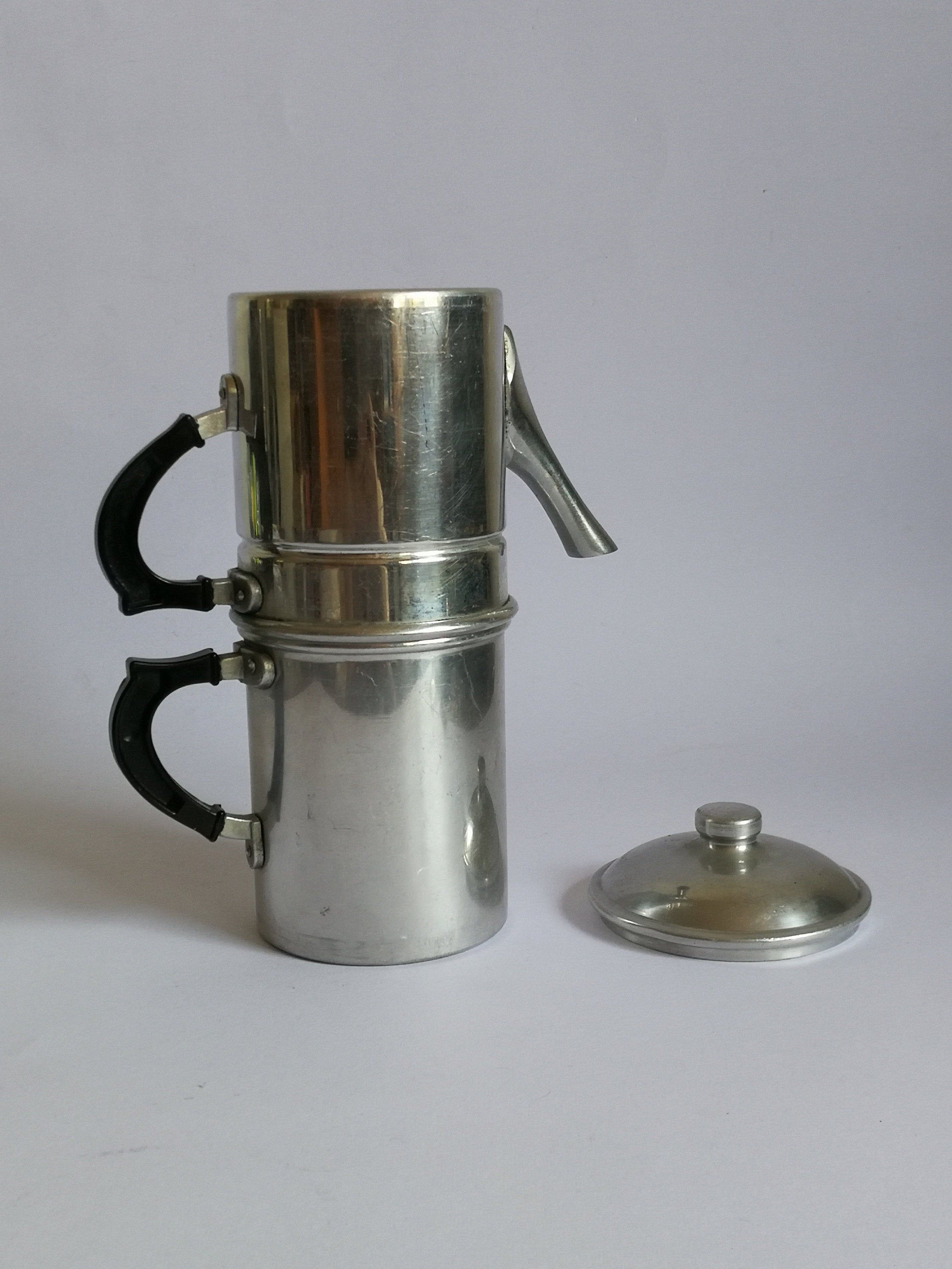 Traditional Neapolitan coffee maker 6 cups 50s made in