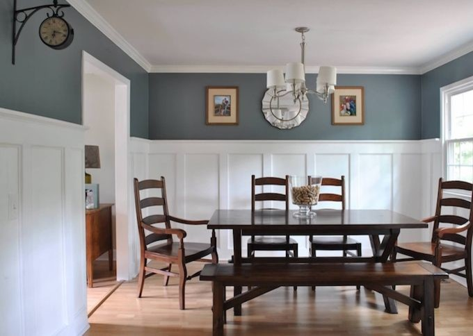 Dining room wainscoting/board and batten help