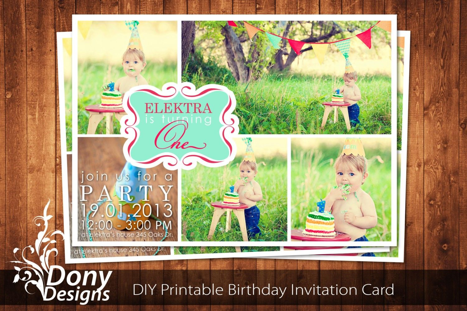 Photoshop Birthday Invitation Templates Free Download Cards