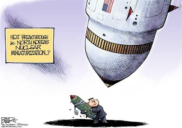 Even newer editorial cartoons | Political Teen Tidbits |Current Political Cartoons North Korea