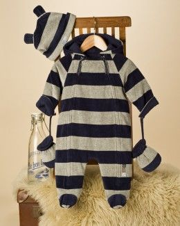Velour Baby Boy Snowsuit 28.99 google inages