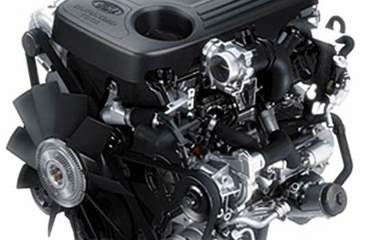 2015 Ford Everest engine