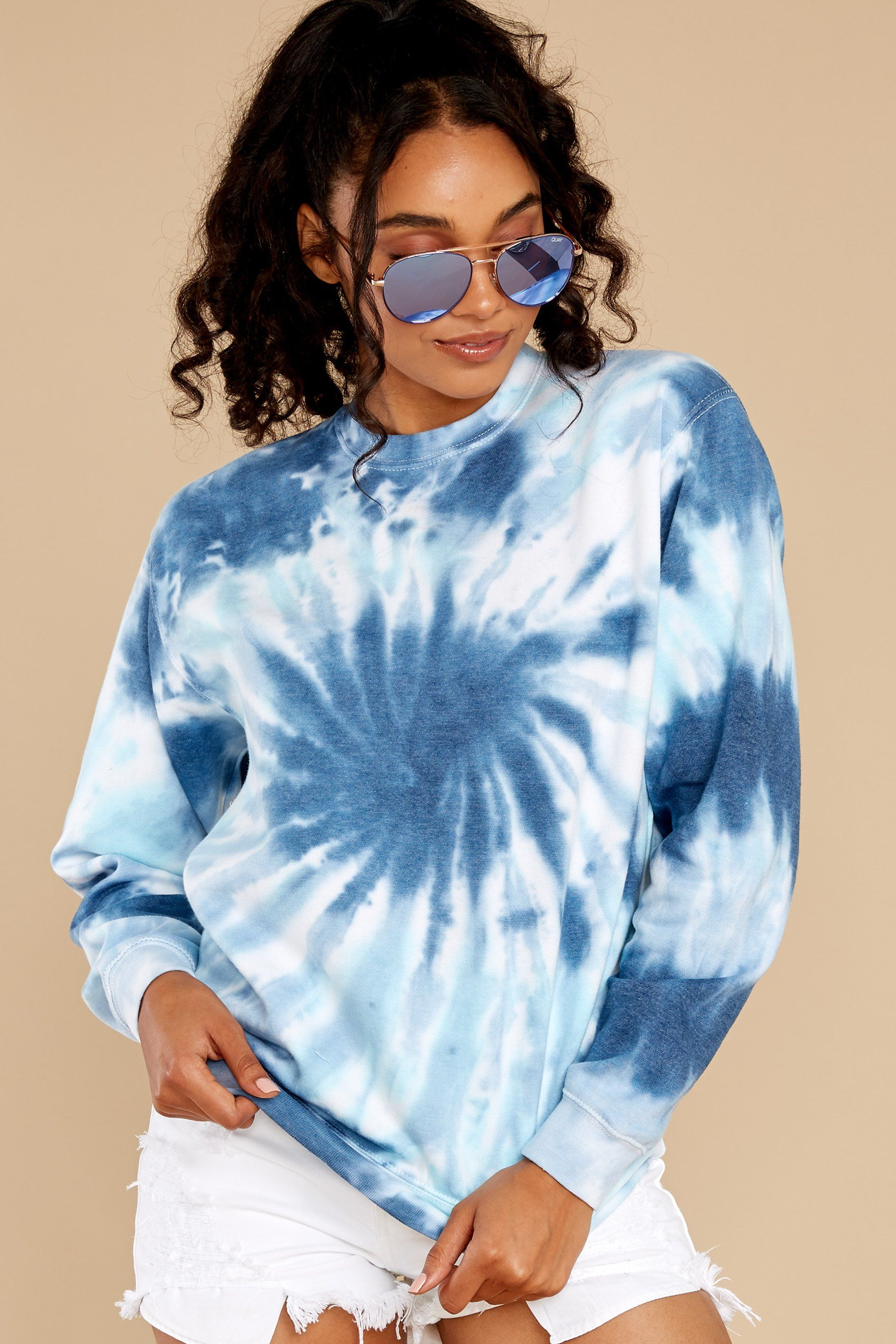 how to tie dye a hoodie spiral