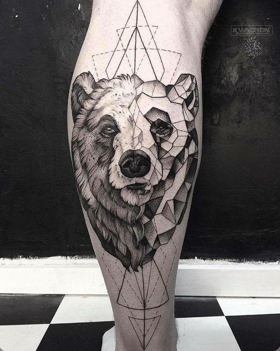 Tatto Oso Tatuajes Pinterest Bear Tattoos Tattoos Y Grizzly