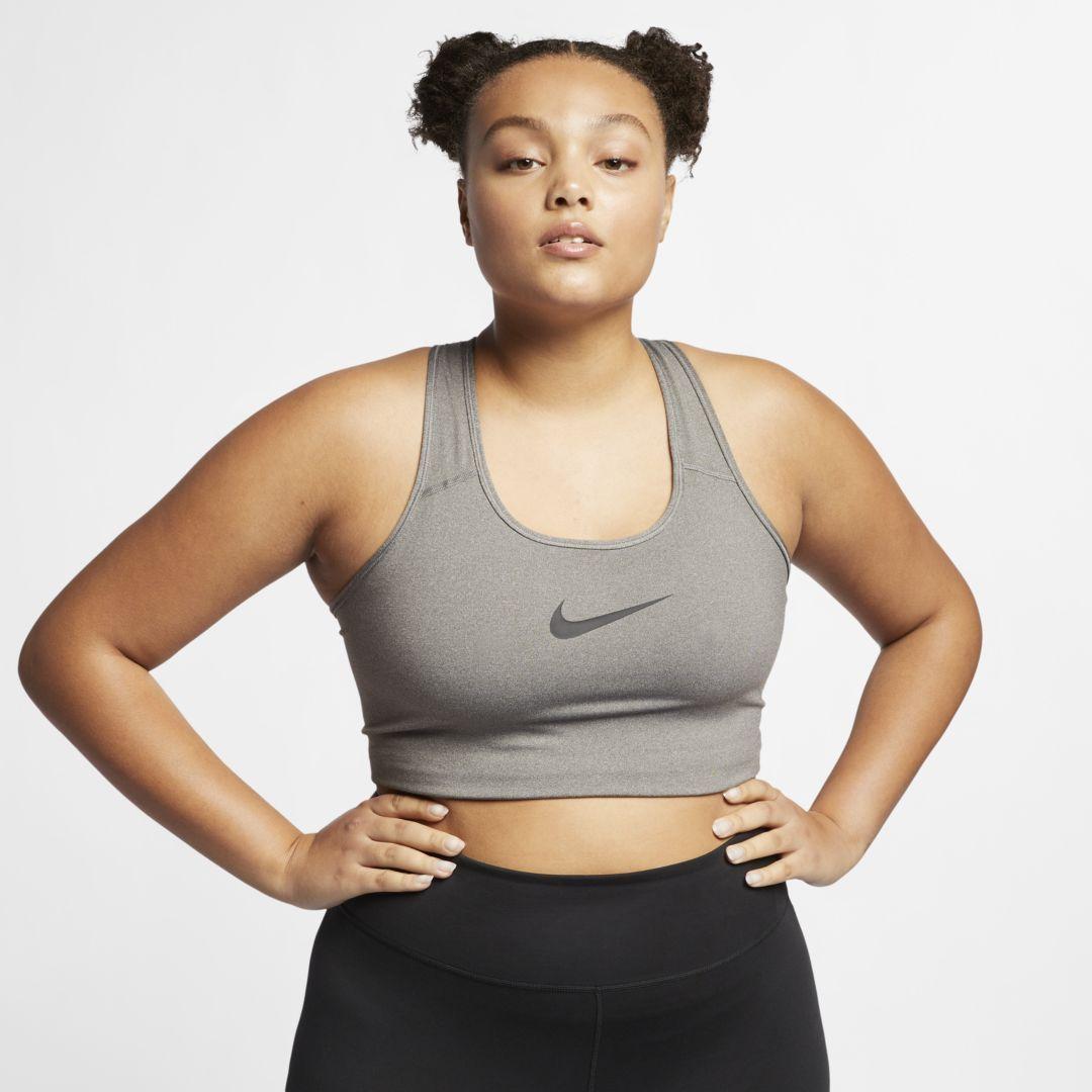 Women's Swoosh MediumSupport Sports Bra (Plus Size