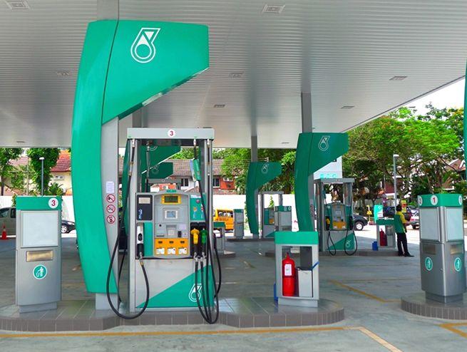Petronas Petrol Station Filling Station Gas Station