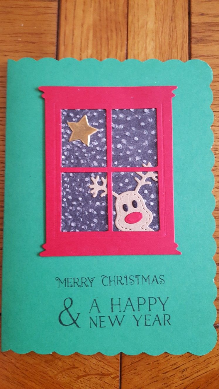 Fun Rudolph for my Grandchildren. | My DIY Christmas Cards ...