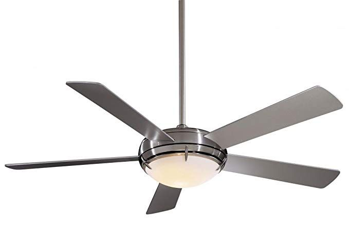 Minka Aire F603 Bn Como 54 Quot Ceiling Fan Brushed Nickel Finish With Silver Blades Review