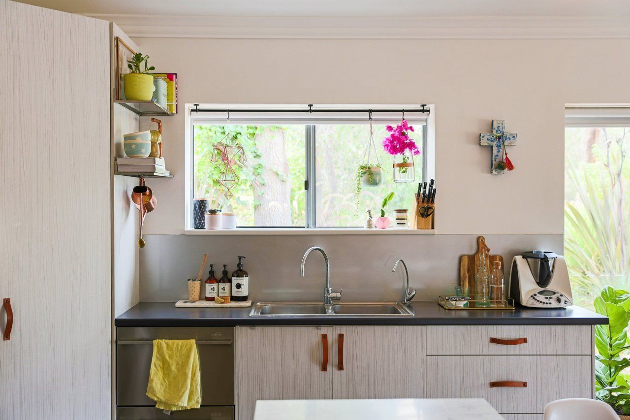 a bright happy family home in a backyard shed happy family