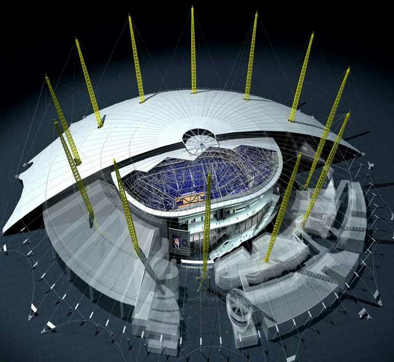 02 Arena London Amazing Buildings Seating Plan London