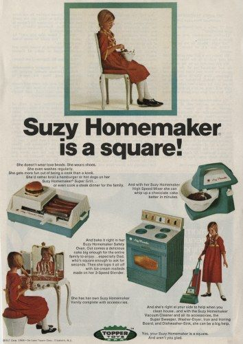 Suzy Homemaker Toys 1968 There Is My Beloved Vanity I