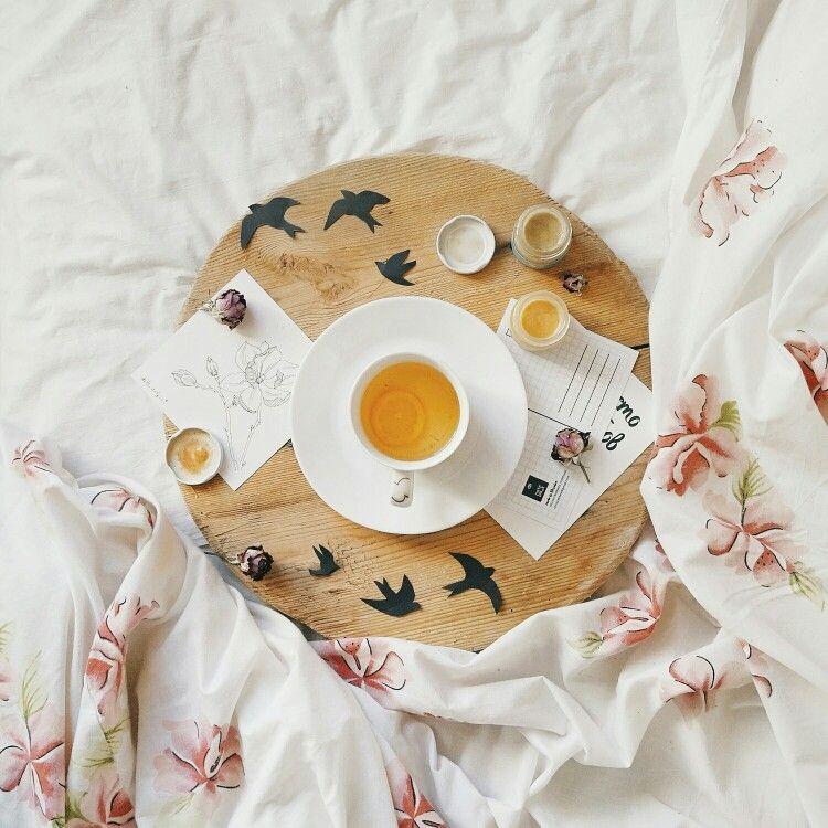 Tea flowers food spring instagram flatlay @v.s.l.n.b.r.n