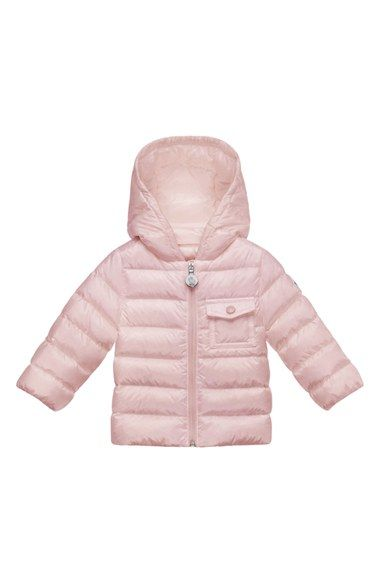 ae15521fb Moncler  Milou  Water Resistant Hooded Down Puffer Coat (Baby Girls ...