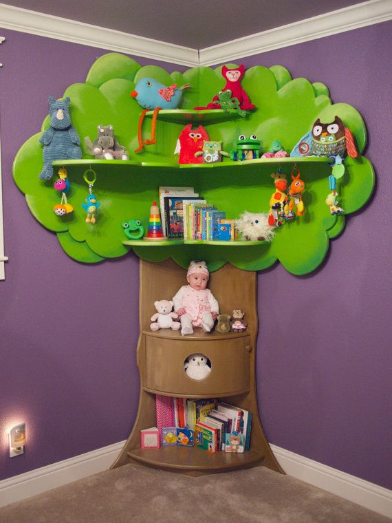 Sarah Chintomby Rhodes Childrens Tree Bookcase By BeezleeCreations On Etsy 90000