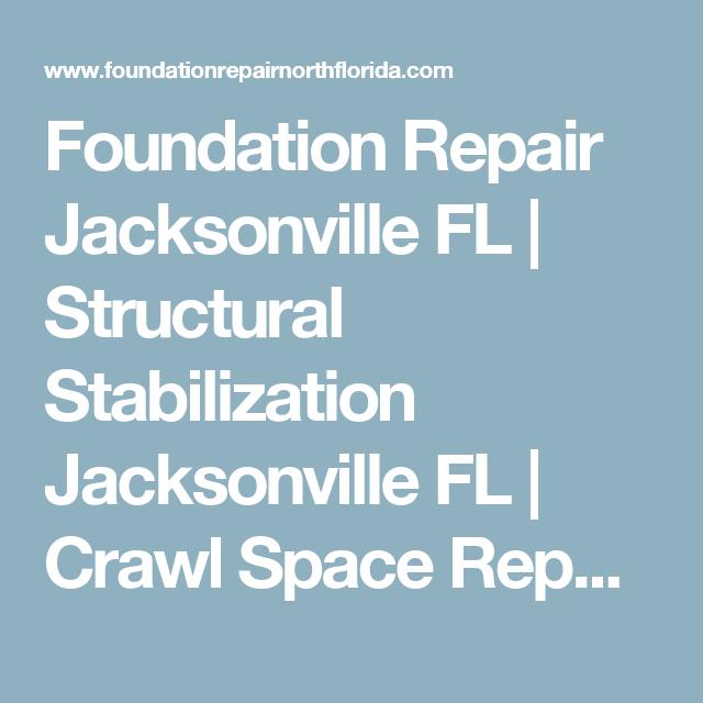 Foundation Repair Jacksonville Fl Structural