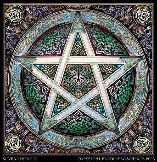 The Pentacle Is Symbol Of Love And Protection Old World
