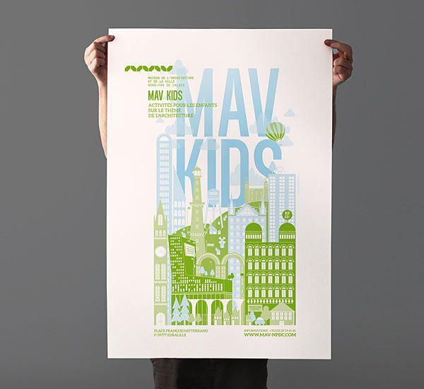 MAV KIDS - Poster Design by Les produits de l'épicerie | graphic ...