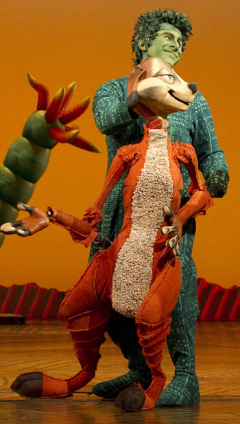 Richard Frame As Timon In Lion King The Musical