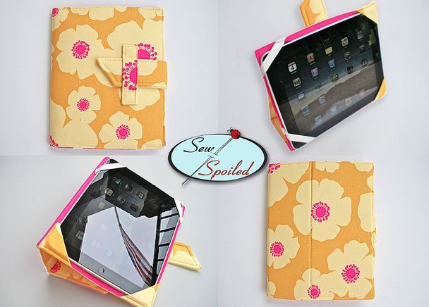 Ipad case pattern. I've used this pattern several times. Its great and so customizable...  Highly recommended!