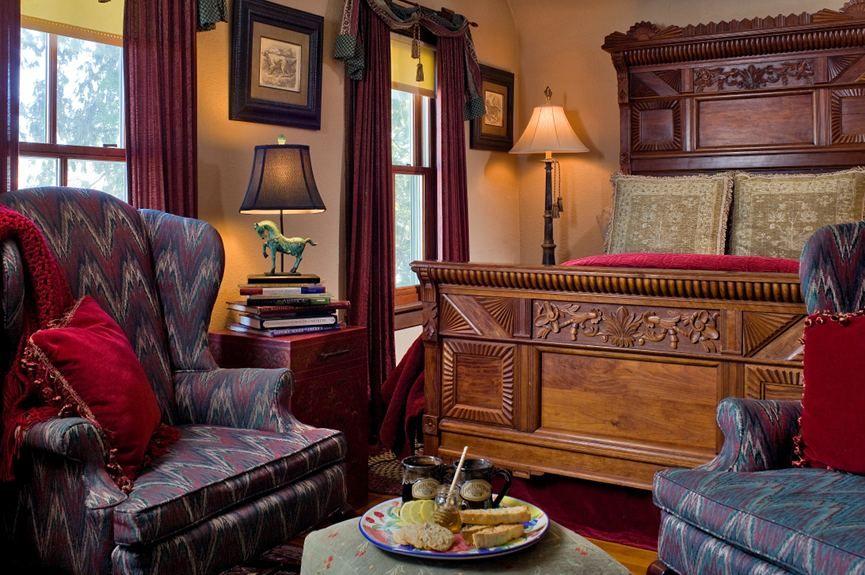 Inn Guest Rooms Irish Hollow Galena Bed & Breakfast