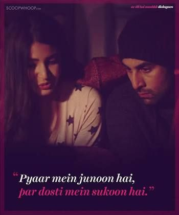 Ae Dil Hai Mushkil Dialogue In English Image Result For Ae Dil Hai Mushkil Quotes Bollywood Love Quotes Bollywood Quotes Friends Forever Quotes