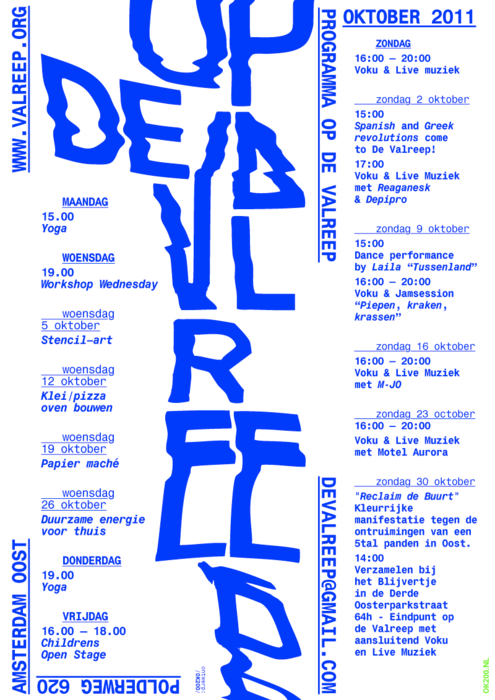 ok200:  Valreep Programm