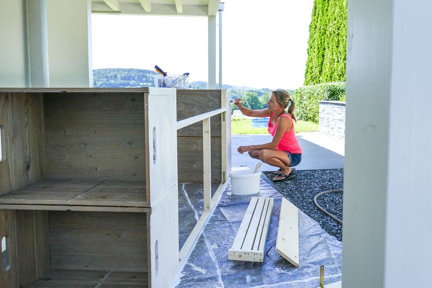 Outdoor Küche, Outdoor Kitchen, selber bauen, Anleitung ...