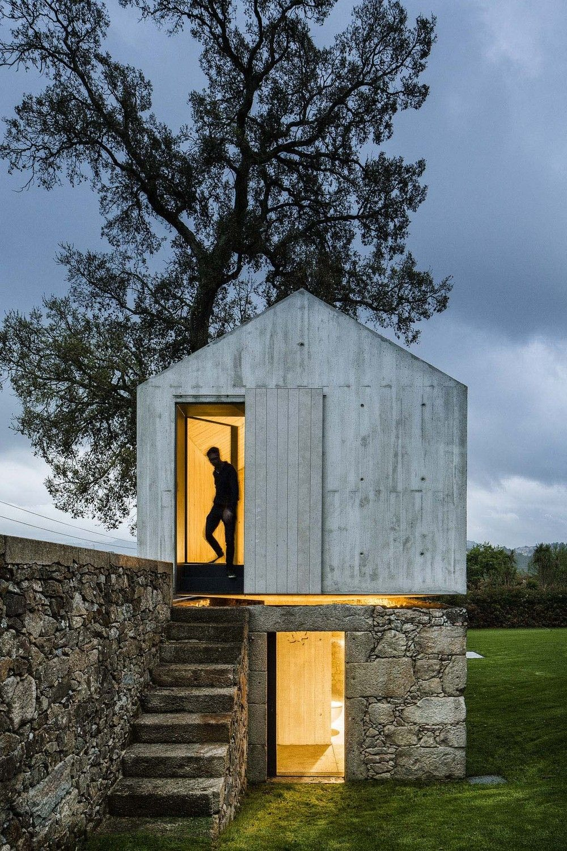 Gartenpavillon design  Beton zum Spielen - Gartenpavillon in Braga von AZO Sequeira ...