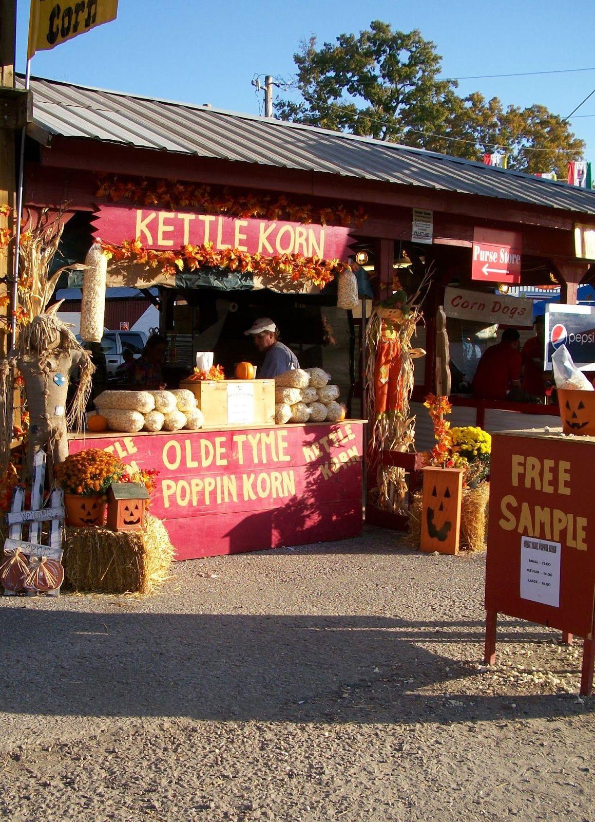 Setup Ideas Kettle corn, Homemade kettle corn, Kettle