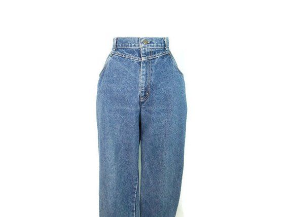 568fef9988 Vintage Levi's Plus Size Jeans 1980's High Waist Levi's Blue Jeans Women's  Size 18 Yoke Front Tapered 80's Jeans High Waisted Mom Jeans