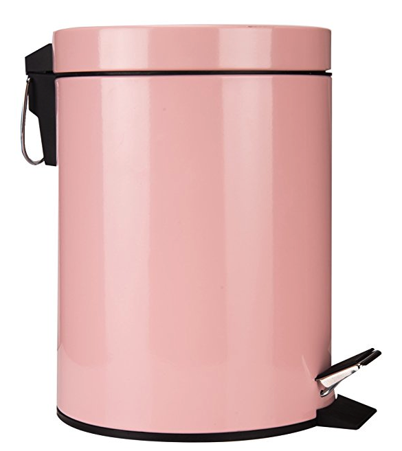Ginihome Small Trash Can For Kitchen Bathroom Garbage Bin Soft Close Waterproof And Easy To Clean 5 Liter Trash Can Kitchens Bathrooms Small Trash Can