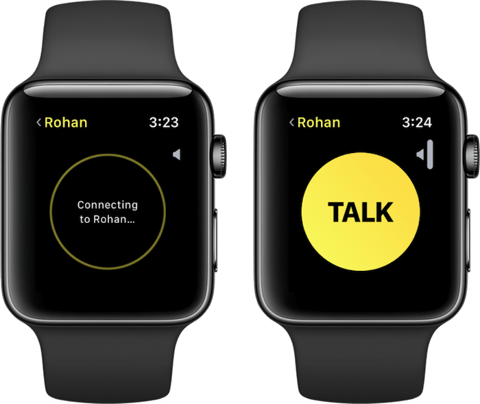 How to Turn Apple Watch Into a WalkieTalkie (With images