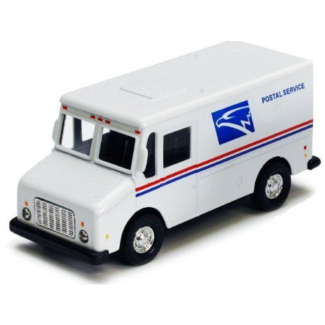 Other Vehicles Reasonable Usps Post Van Plastic Toy Car Free Ship To Have A Unique National Style Toys & Hobbies