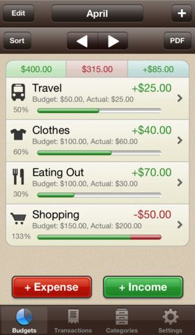 My Budgets--budgeting app Ipad Apps for the classroom Pinterest - budget spreadsheet app