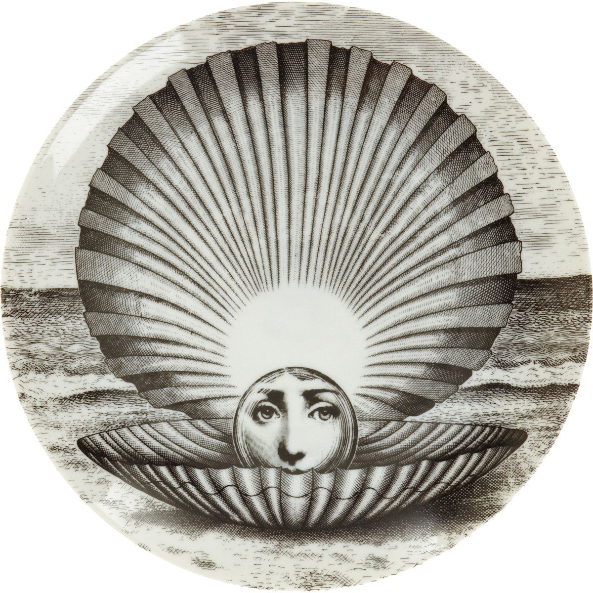 Decorative Face Plates Captivating Plate 274  Things  Pinterest  Piero Fornasetti Illustrations Review